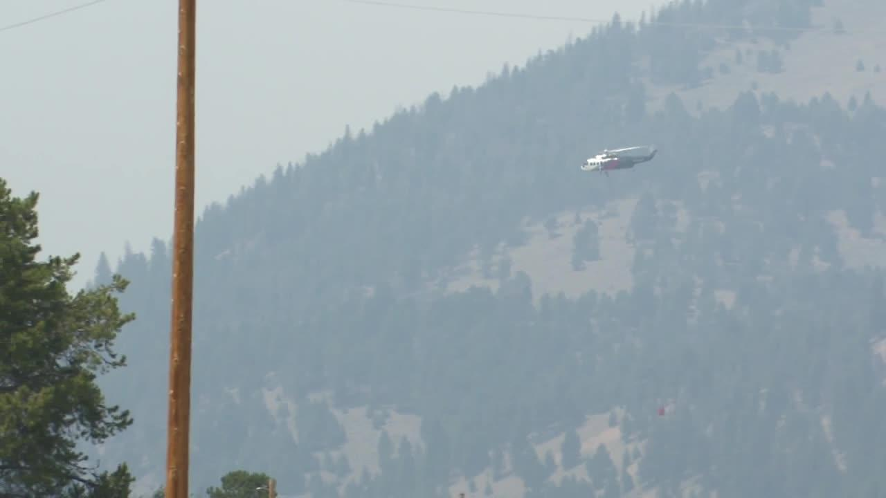 Wise River evacuations continue as Alder Creek Fire spreads