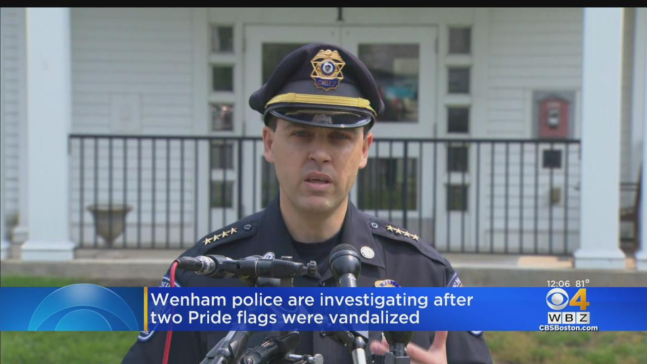 Pride Flags Torn Down In Wenham, Police Searching For Vandals