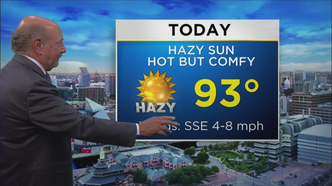 Marty Bass Has Your Tuesday Afternoon Weather Forecast