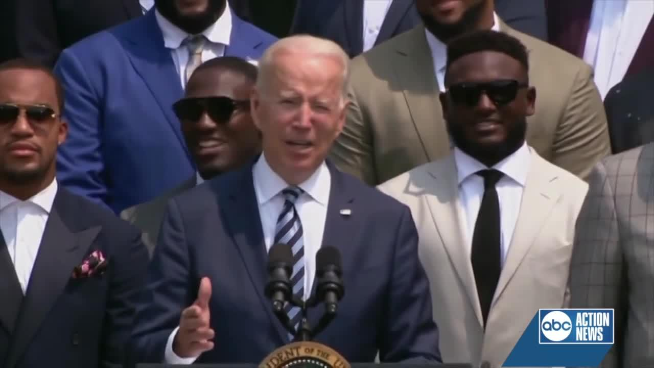 Highlights from Bucs White House Visit