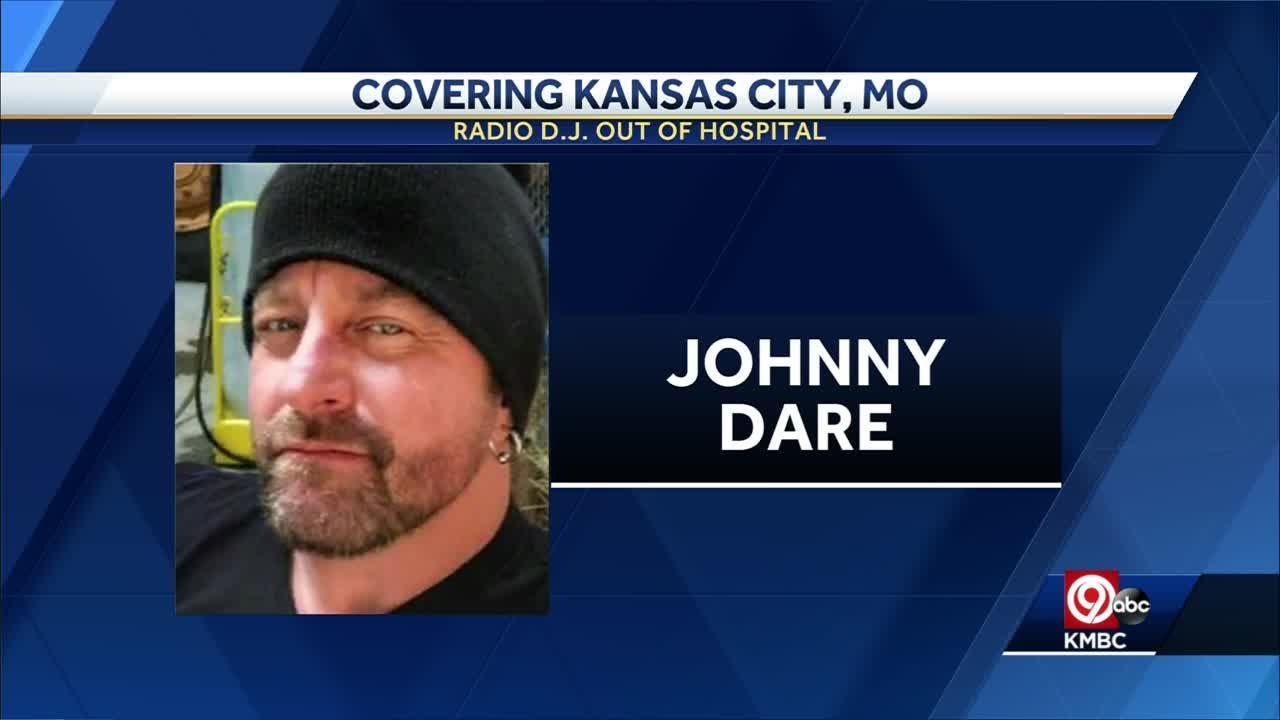 Kansas City morning radio host Johnny Dare out of the hospital