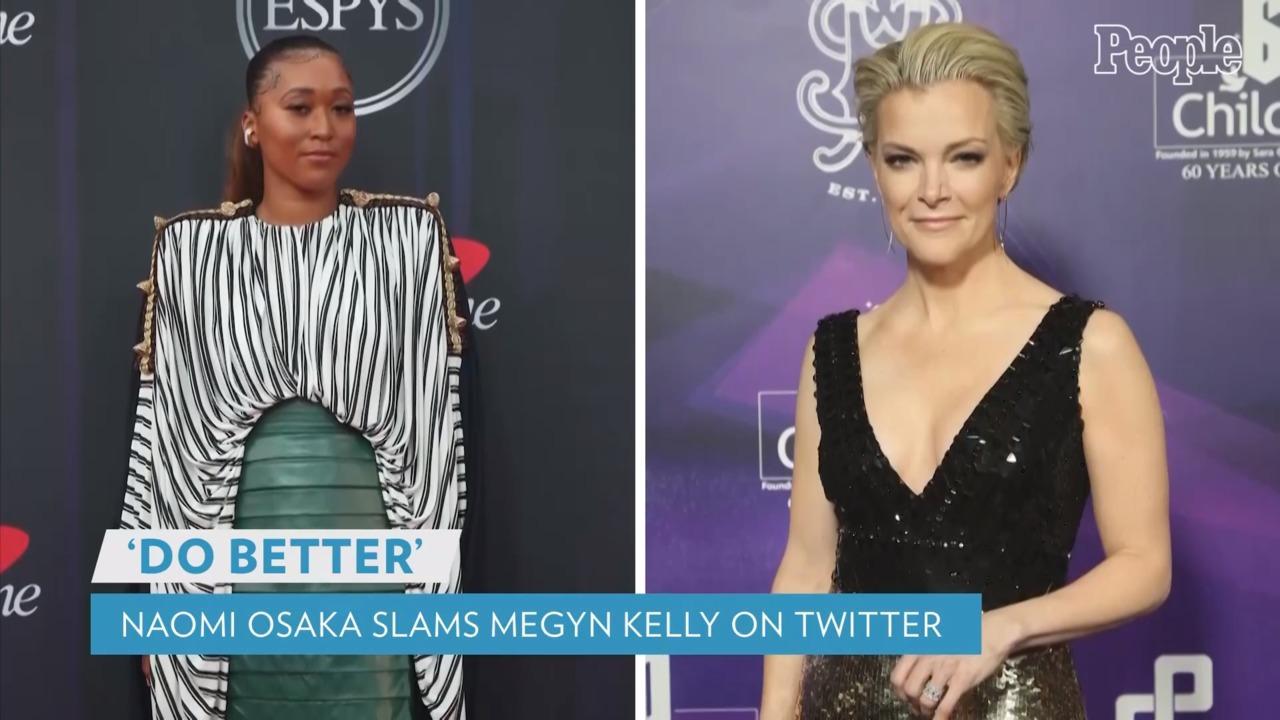 Naomi Osaka Tells Megyn Kelly to 'Do Better' After Journalist Slams Athlete's Magazine Covers