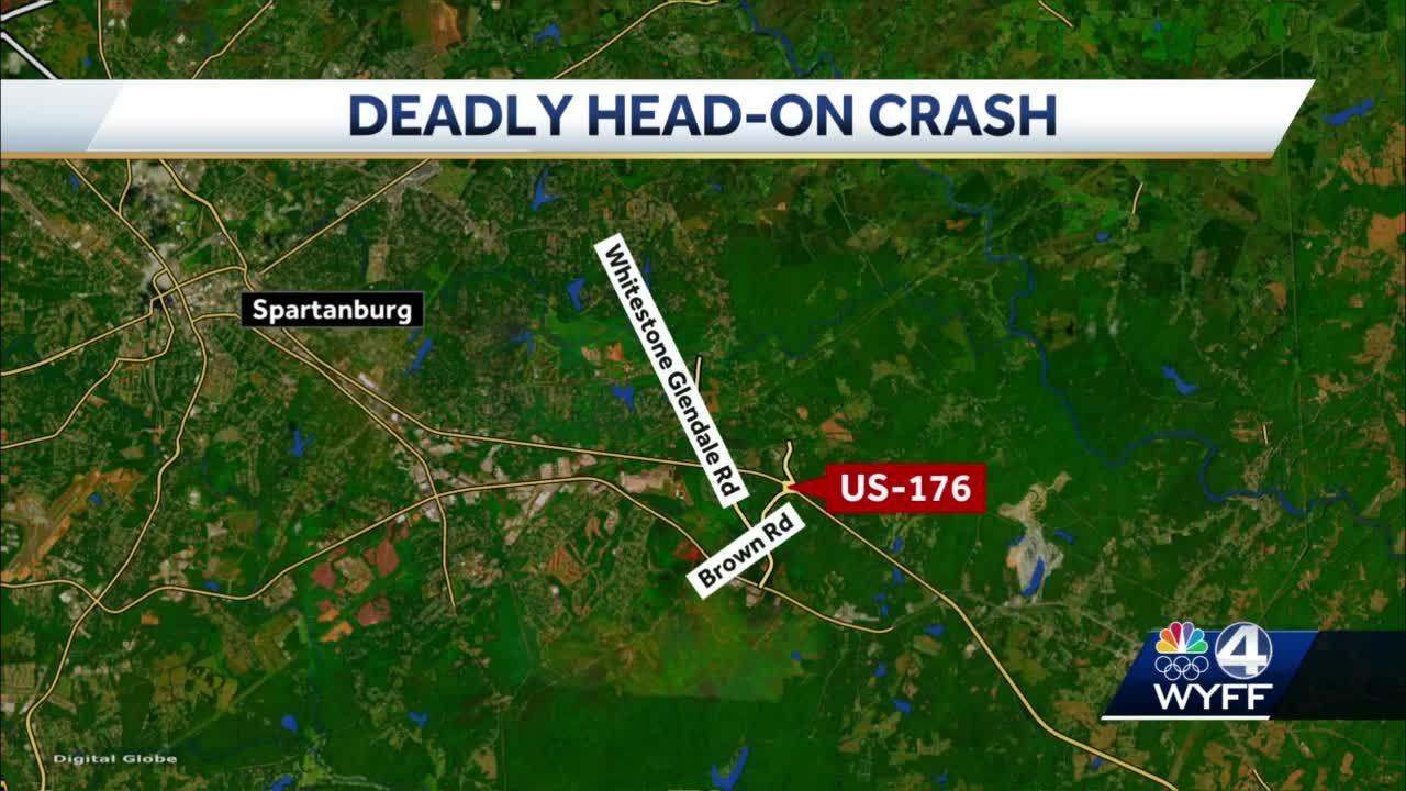 Coroner identifies Spartanburg woman killed in head-on crash