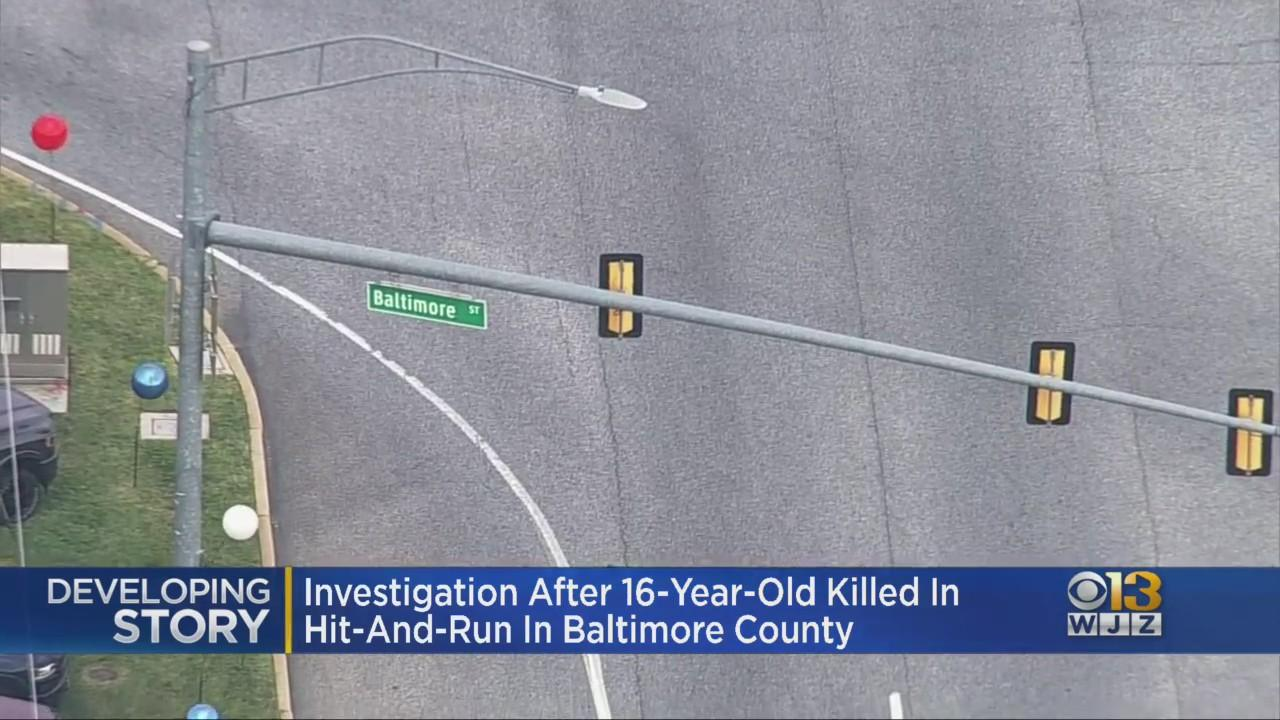 Police Search For Driver In Hit-And-Run Crash That Killed 16-Year-Old Jayden Baldree In Dundalk
