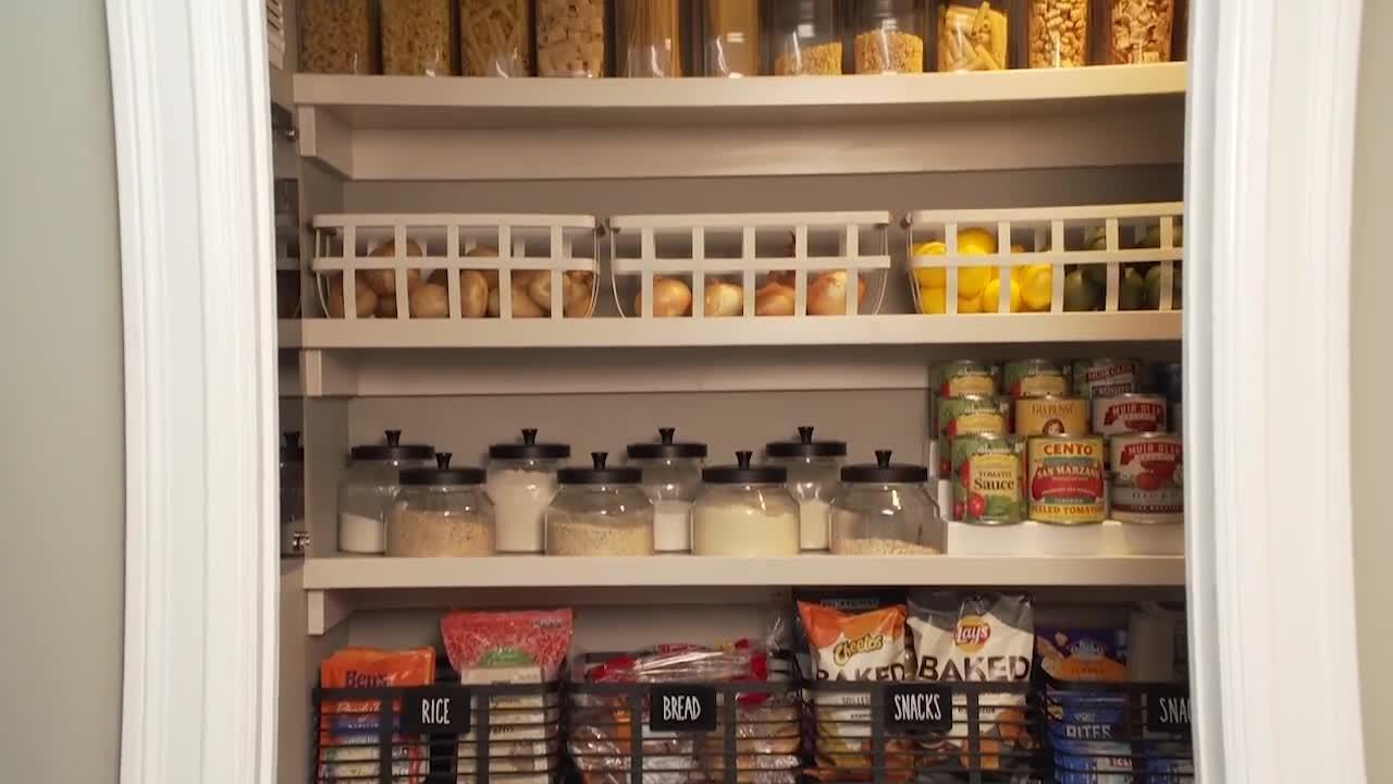 Creating an organized pantry