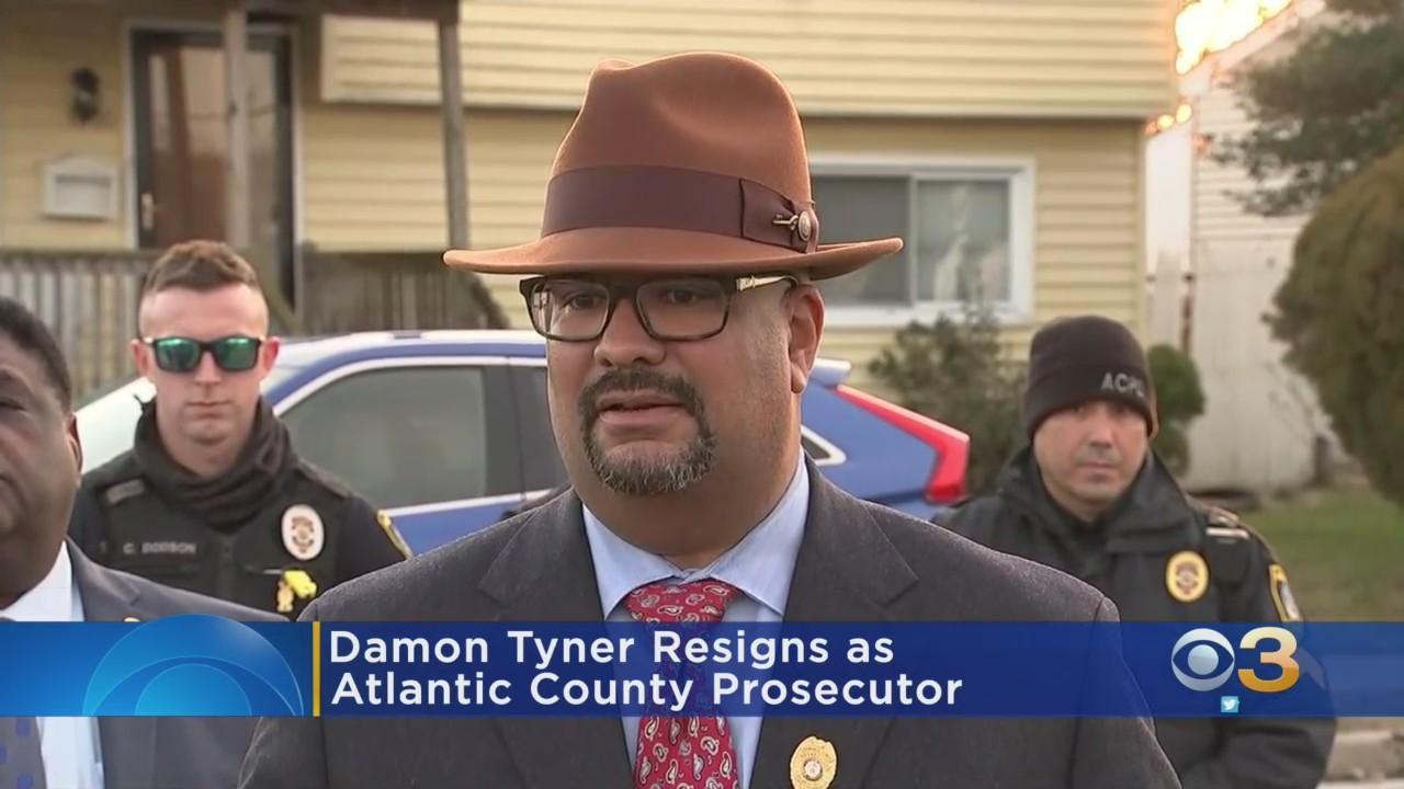 Damon Tyner Resigns As Atlantic County Prosecutor