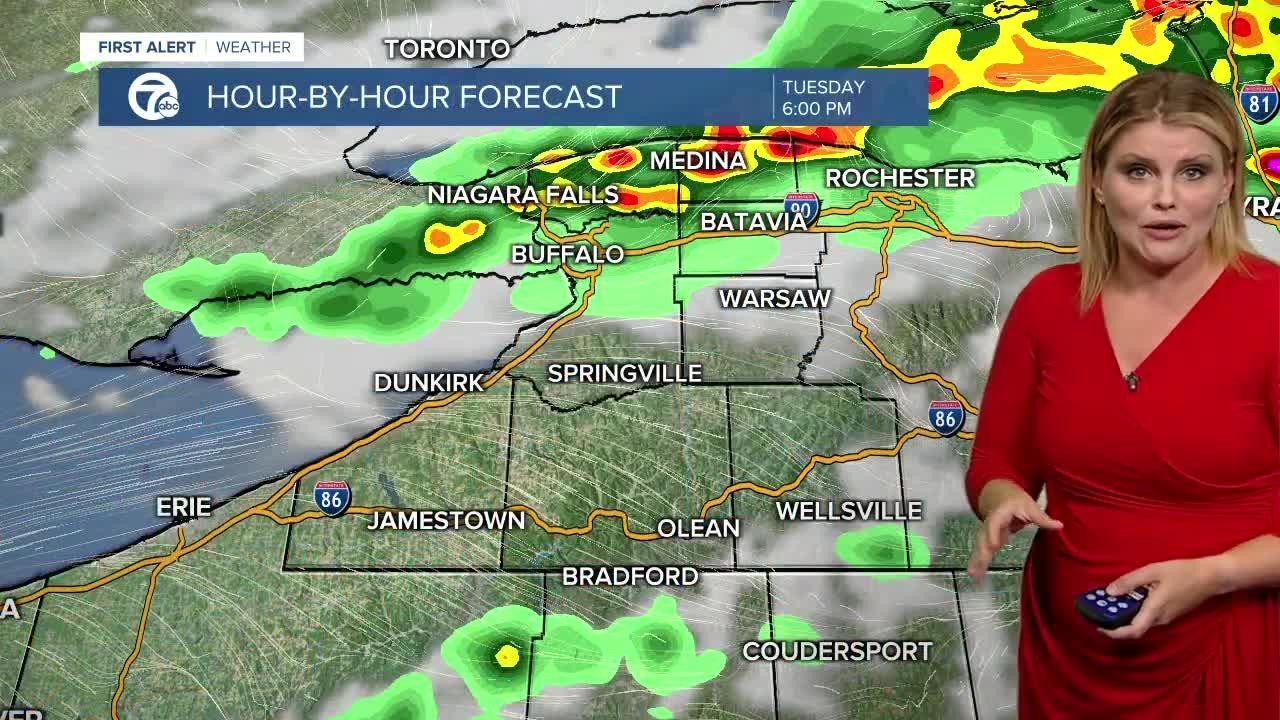7 First Alert Forecast 5 p.m. Update, Tuesday, July 20