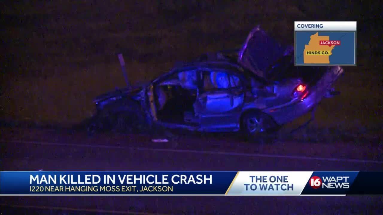 1 Killed In Rollover Crash On I-220