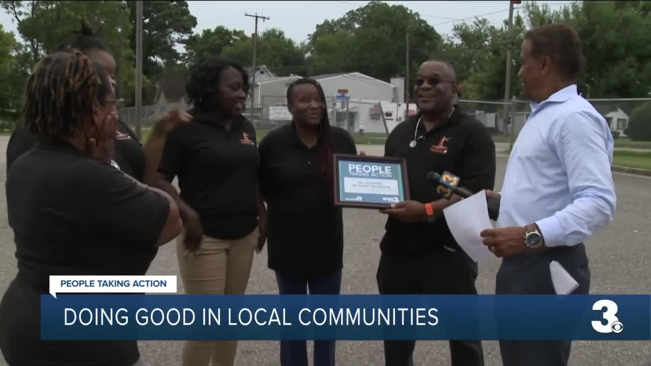 Doing good in local communities
