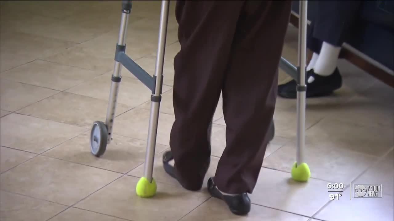 Florida ranks low on vaccines in nursing homes