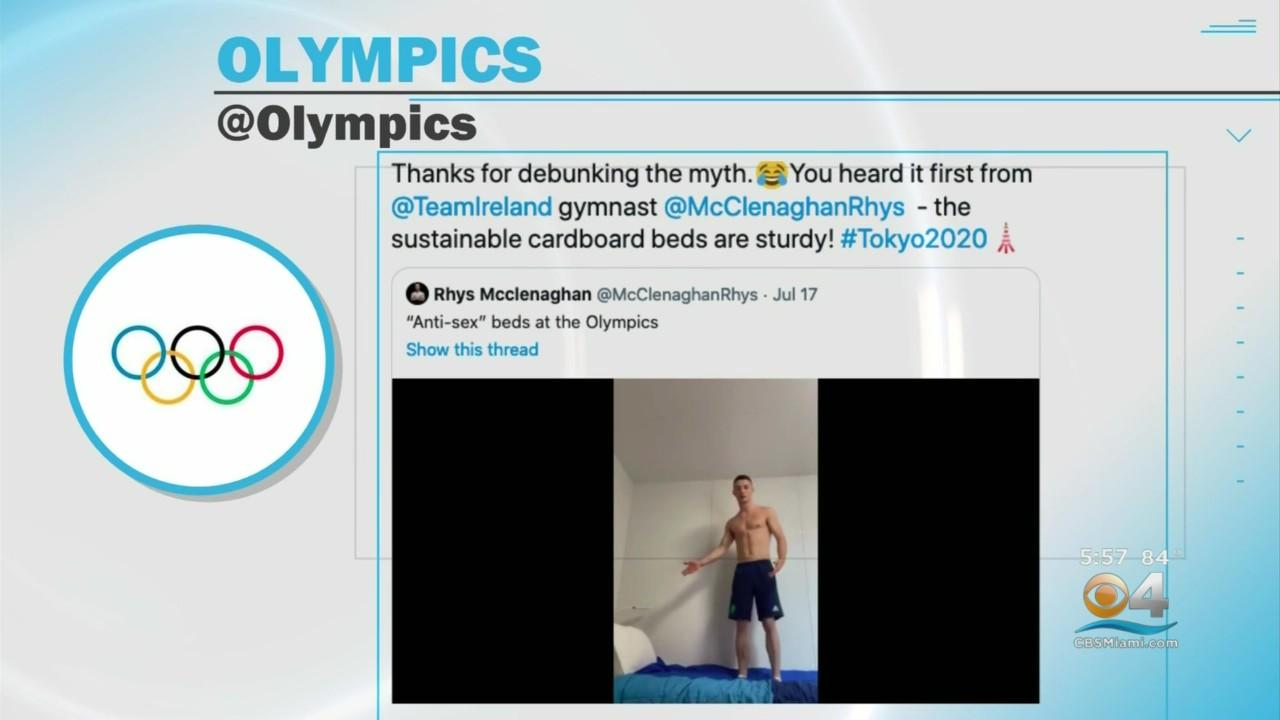 Olympic Beds Come Under Scrutiny