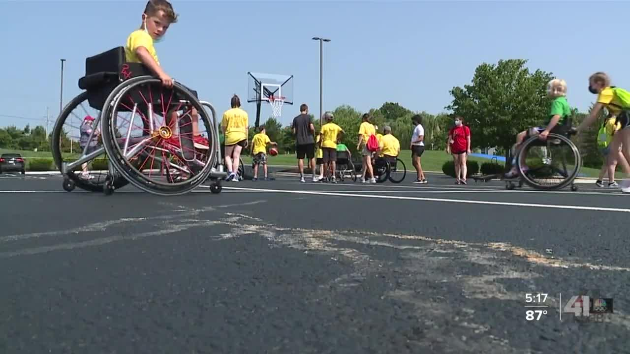 Olympics-themed special needs camp