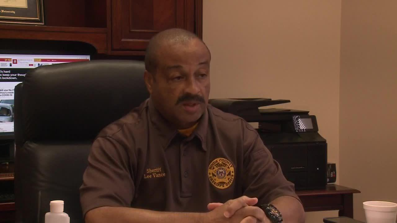 Hinds County sheriff discusses COVID-19 outbreak