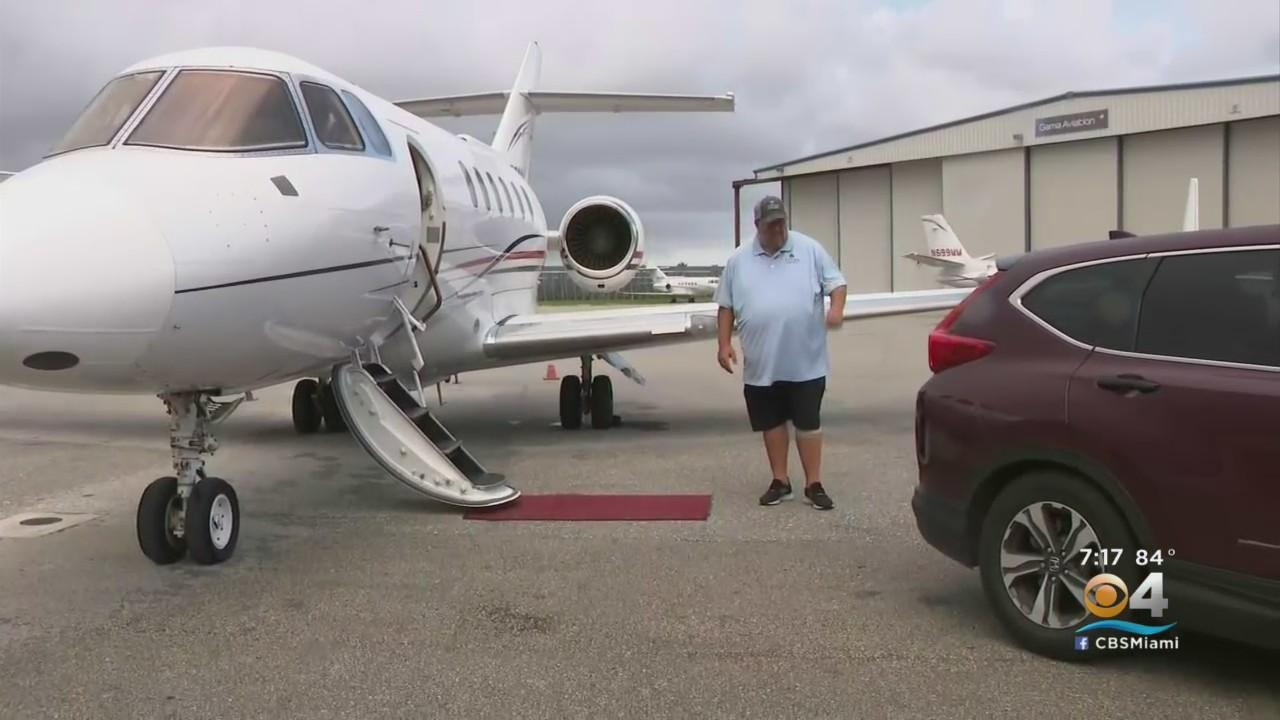 Teddy Flies Home In Style