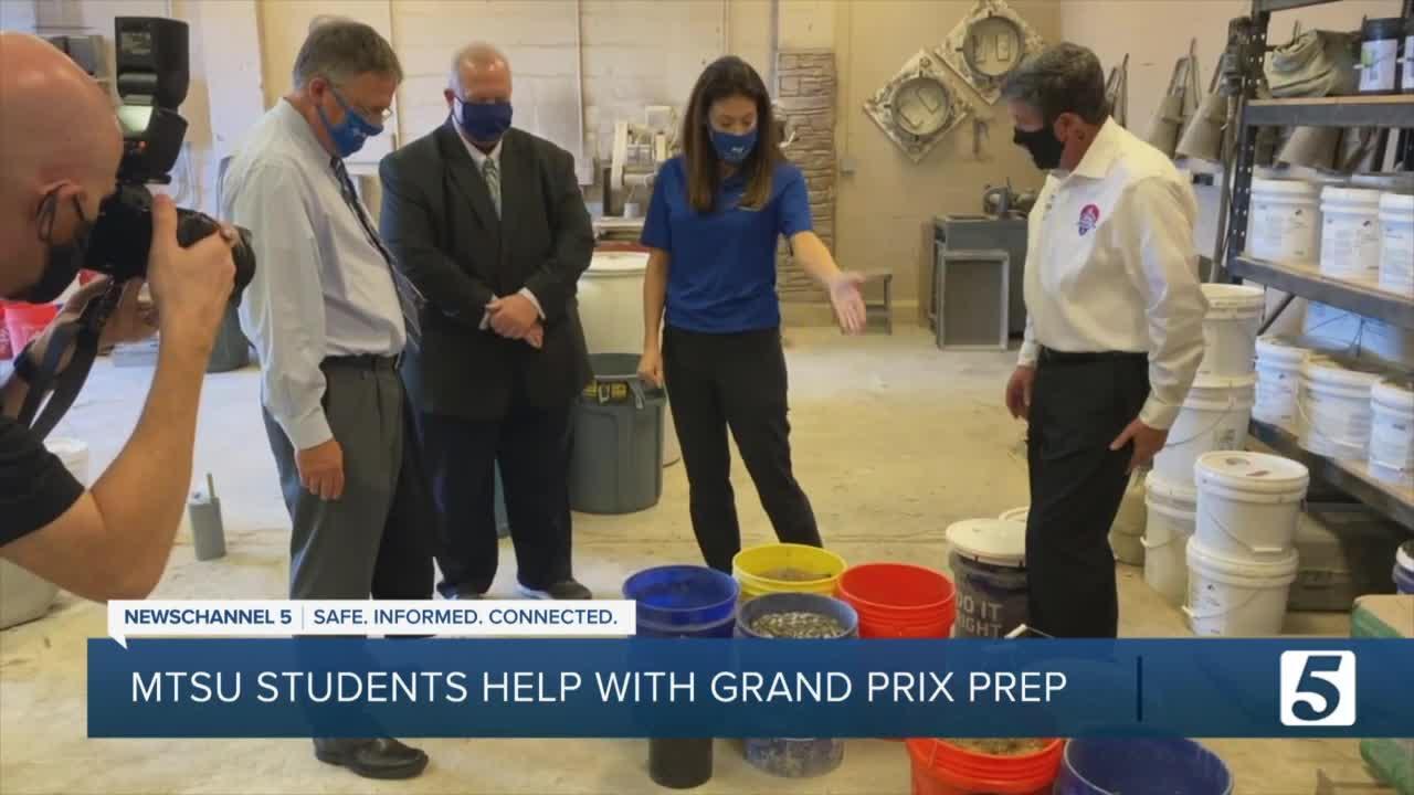 MTSU students help make Music City Grand Prix safe for drivers