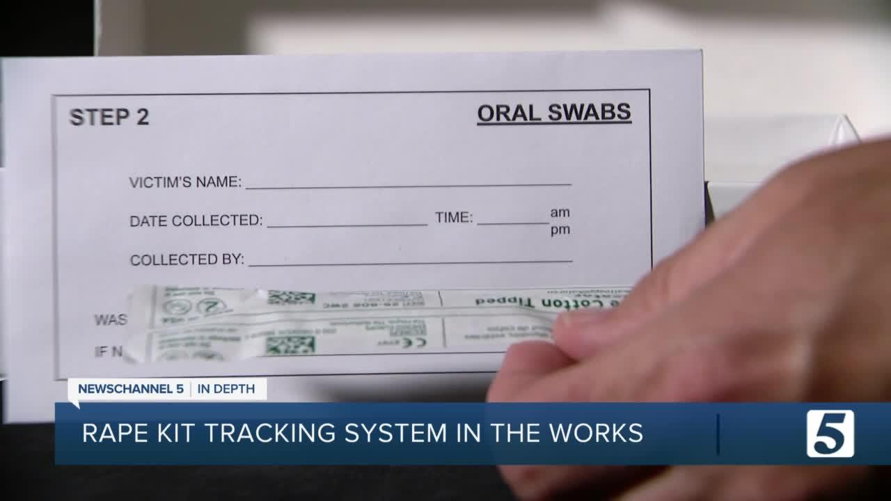 Tracking system in development for evidence submitted by sexual assault survivors in Tennessee