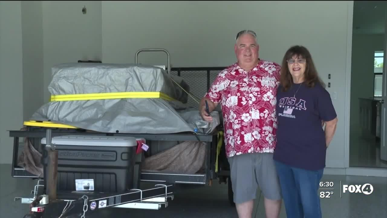 Couple travels from Kansas to buy house in Cape Coral. They've been in a hotel ever since