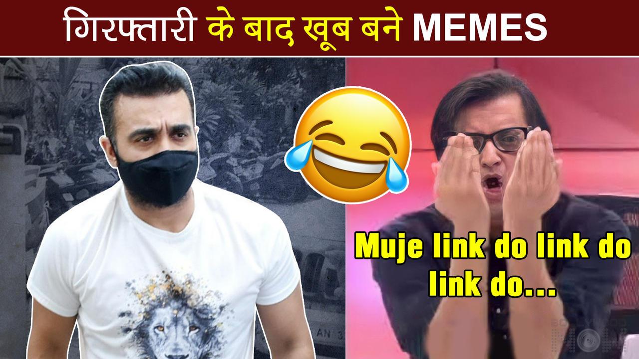 FUNNY MEMES Viral After Raj Kundra's Arrest, Shilpa Shetty TROLLED