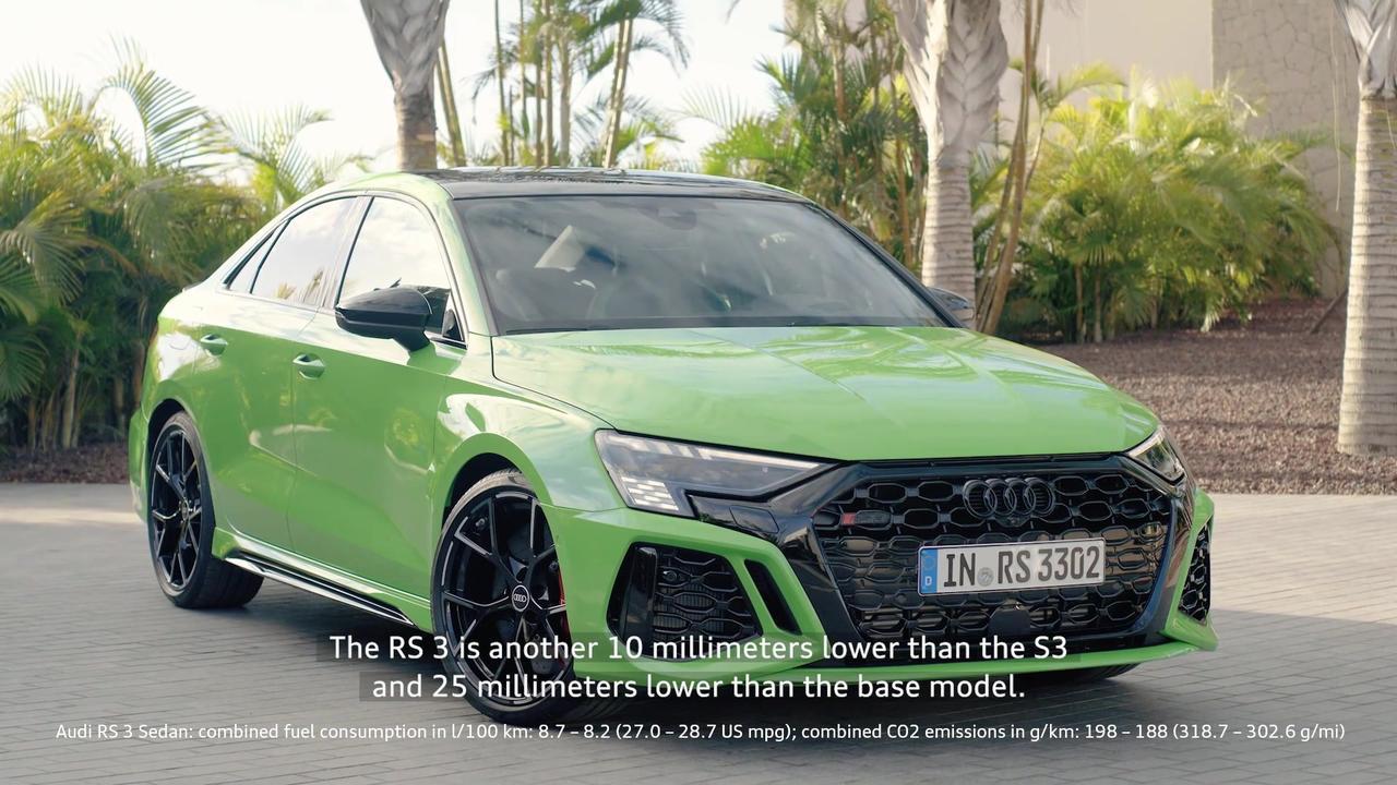 Audi RS 3 - Highlights technology & interior