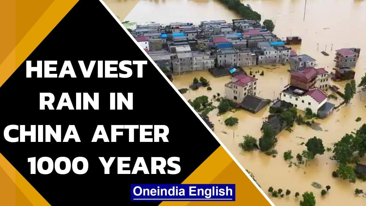 China: Severe flooding in central Henan province, 12 dead| Zhengzhou| Oneindia News