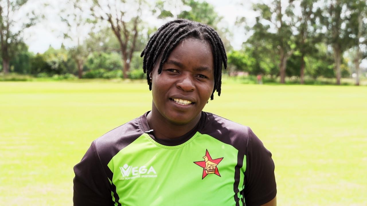 Cricket star and single mother, Precious Marange   My Zimbabwe