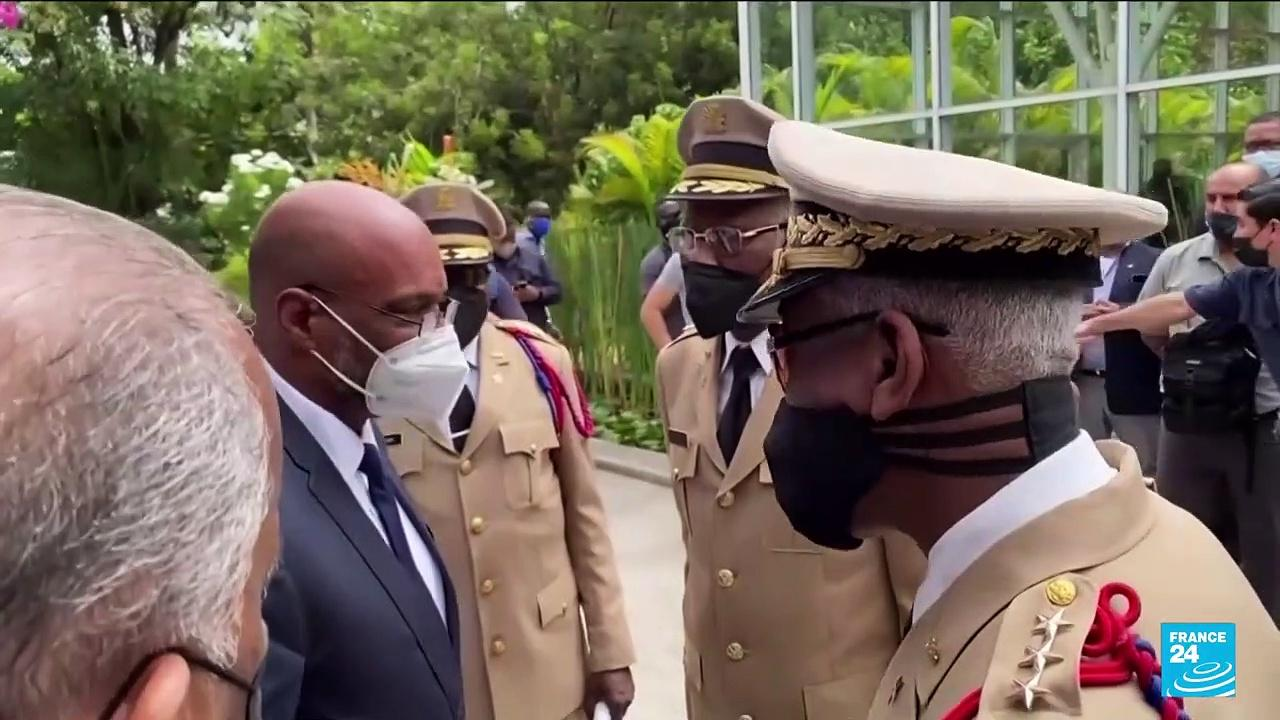 Ariel Henry formally appointed prime minister of Haiti in ceremony