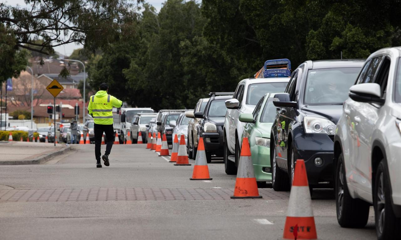 Fairfield residents tell of frustration in massive queues for Covid tests after new rules
