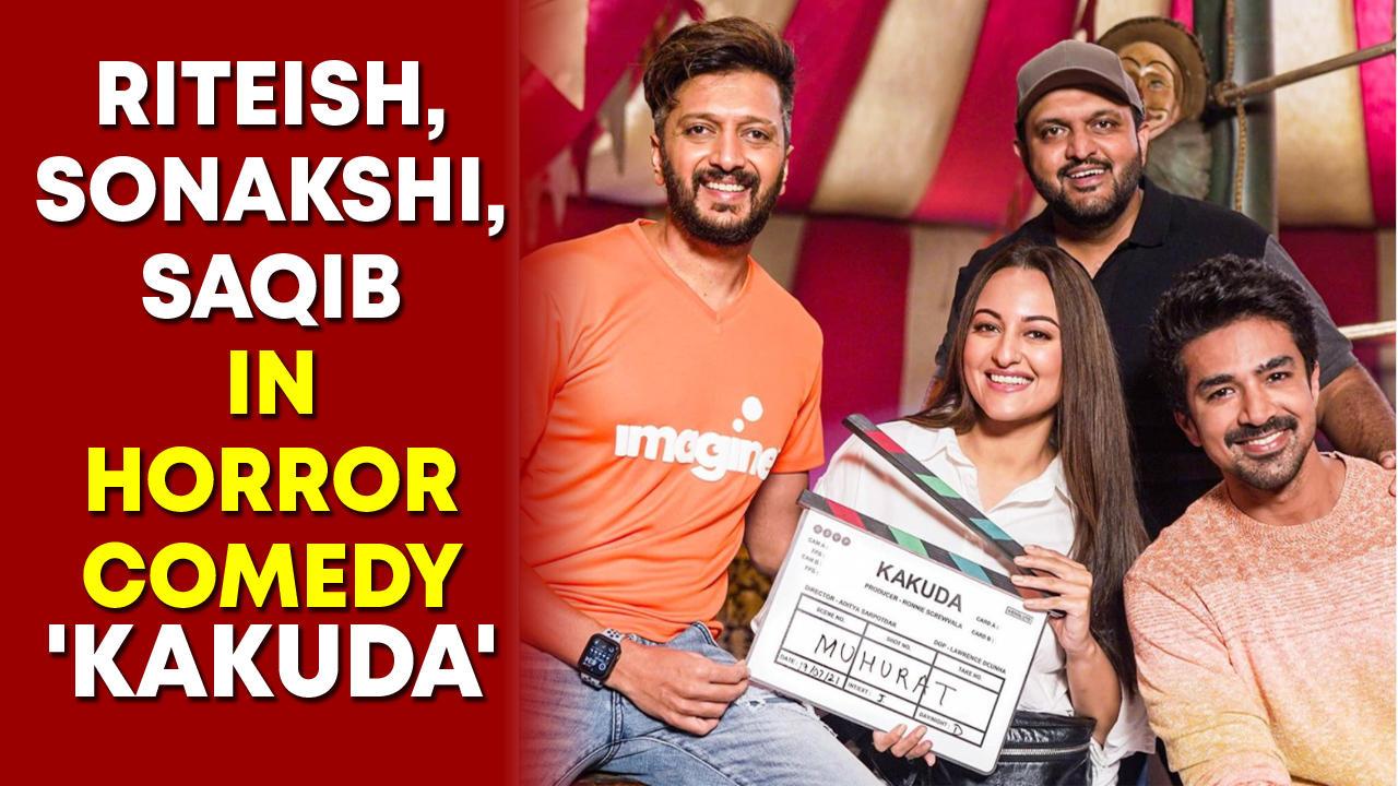 Riteish, Sonakshi, Saqib Saleem in horror comedy 'Kakuda'