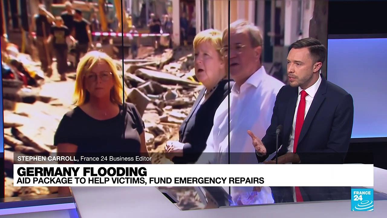 'More money will be made available if needed': German Cabinet approves some $472 million in first flood aid