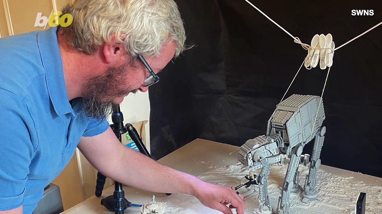 Lego-Loving Dad Recreates Stunning 'Star Wars' Scenes Using Everyday Household Items