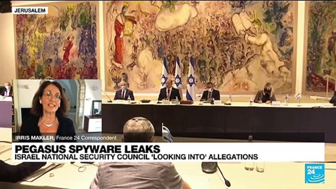 Israel's National Security Council 'looking into' NSO spyware allegations