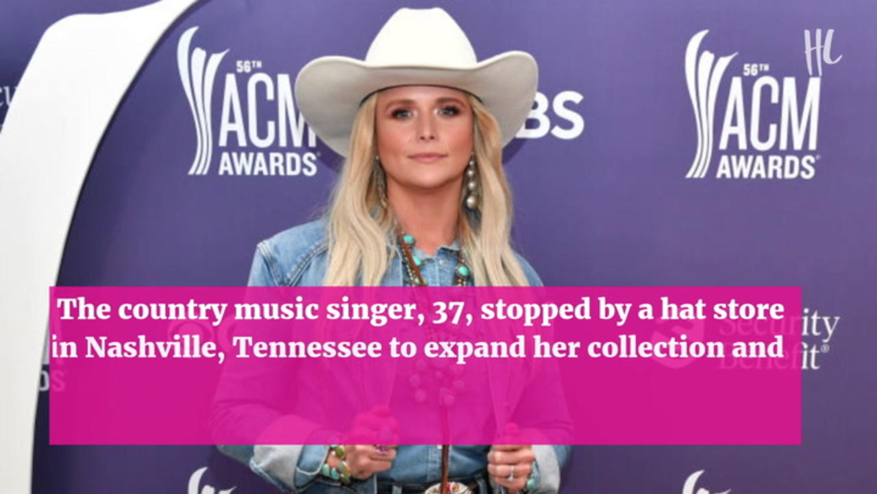 Miranda Lambert Rocks Ripped Daisy Dukes While Shopping For Cowboy Hats