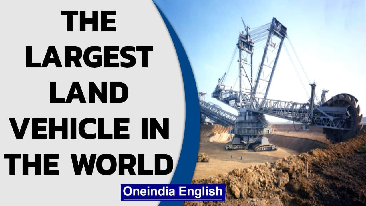 Excavator 288: The largest land vehicles | This giant mines in Germany | Oneindia News