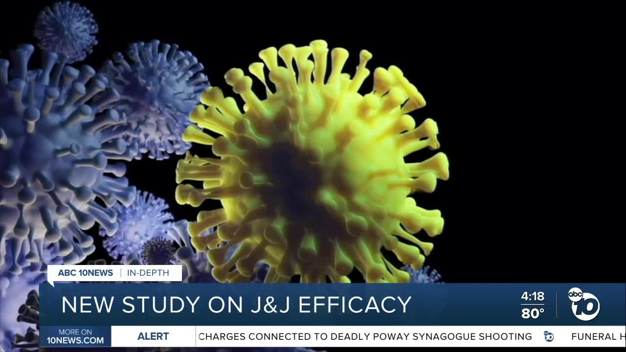 In-Depth: New study on Johnson & Johnson vaccine efficacy