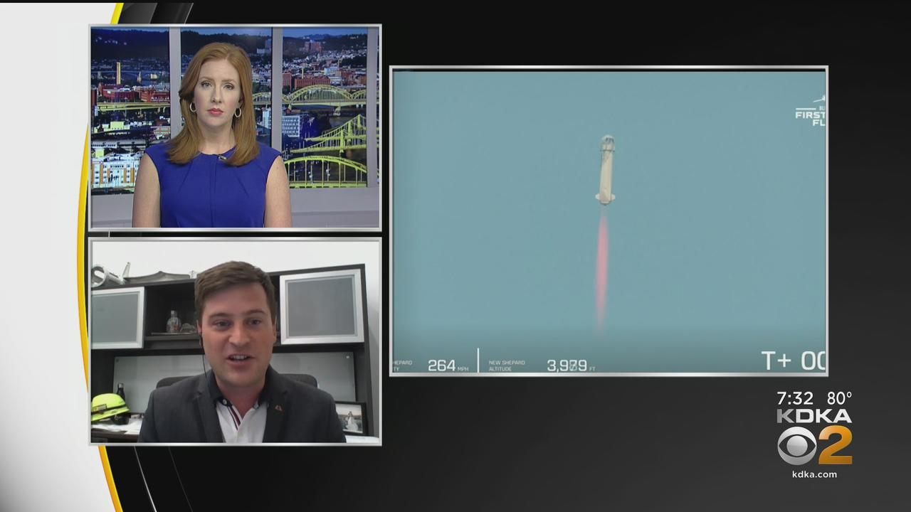 CEO Of Astrobotic Technology Talks Jeff Bezos Going To Space
