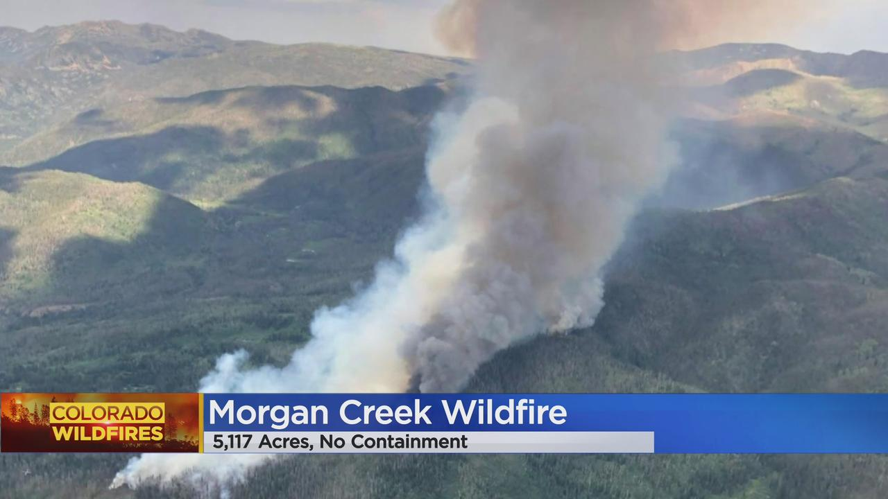 Morgan Creek Fire Grows Unchecked To 5,115+ Acres