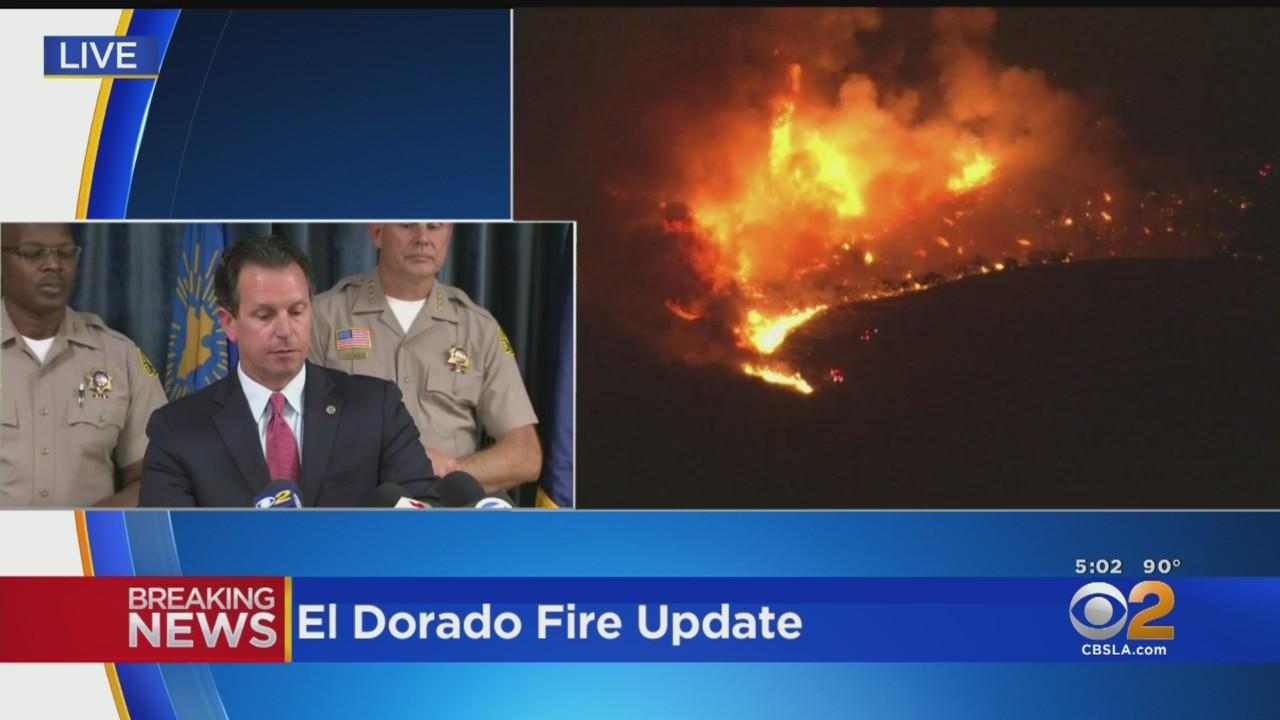 Charges Filed Against Couple Accused Of Starting Deadly El Dorado Fire In San Bernardino County
