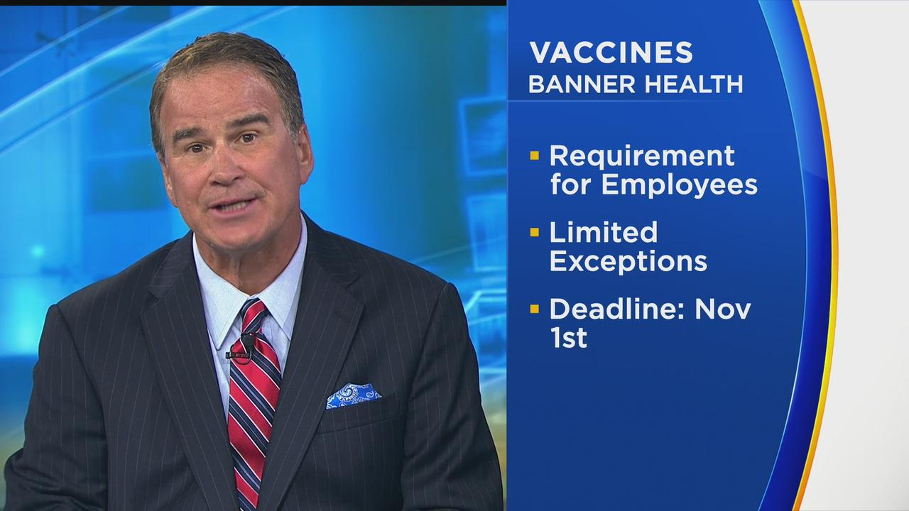 Banner Health To Require Employees To Be Vaccinated Against COVID