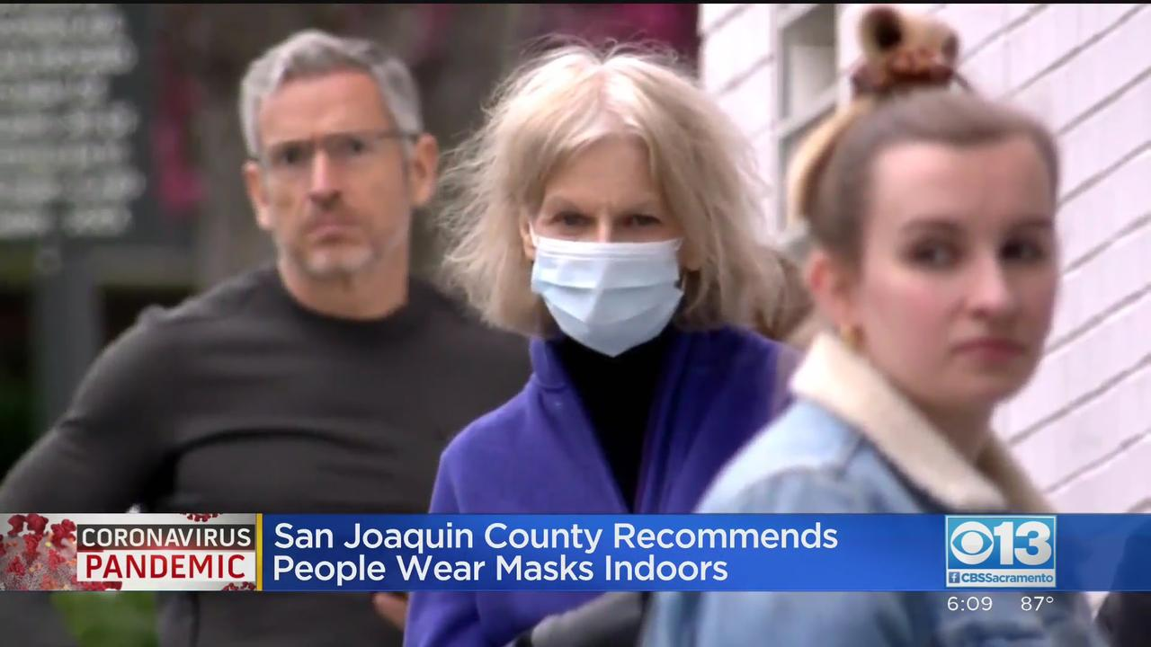 San Joaquin County Issues Mask Recommendation To All As Delta Variant Spreads