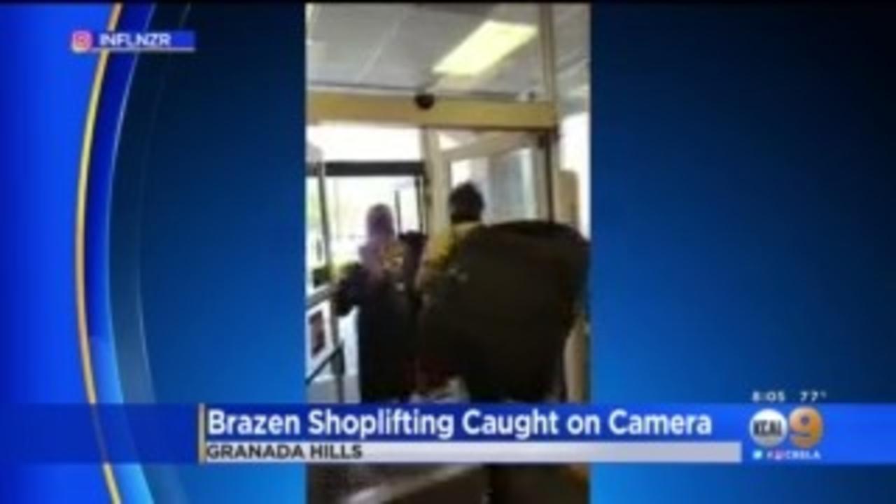 2 Men Caught On Camera In Brazen Daylight Theft From Granada Hills TJ Maxx