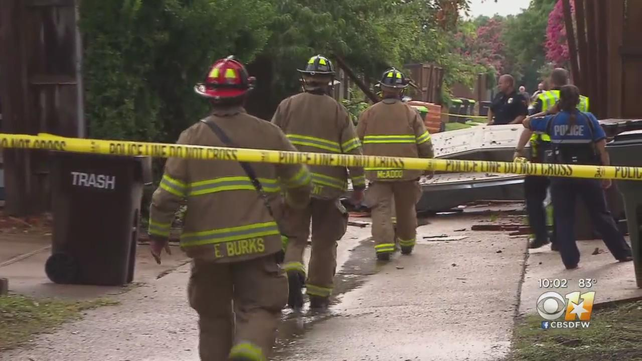 'It Was Kind Of Breathtaking': Plano Firefighter Shares Personal Account Of House Explosion Aftermath