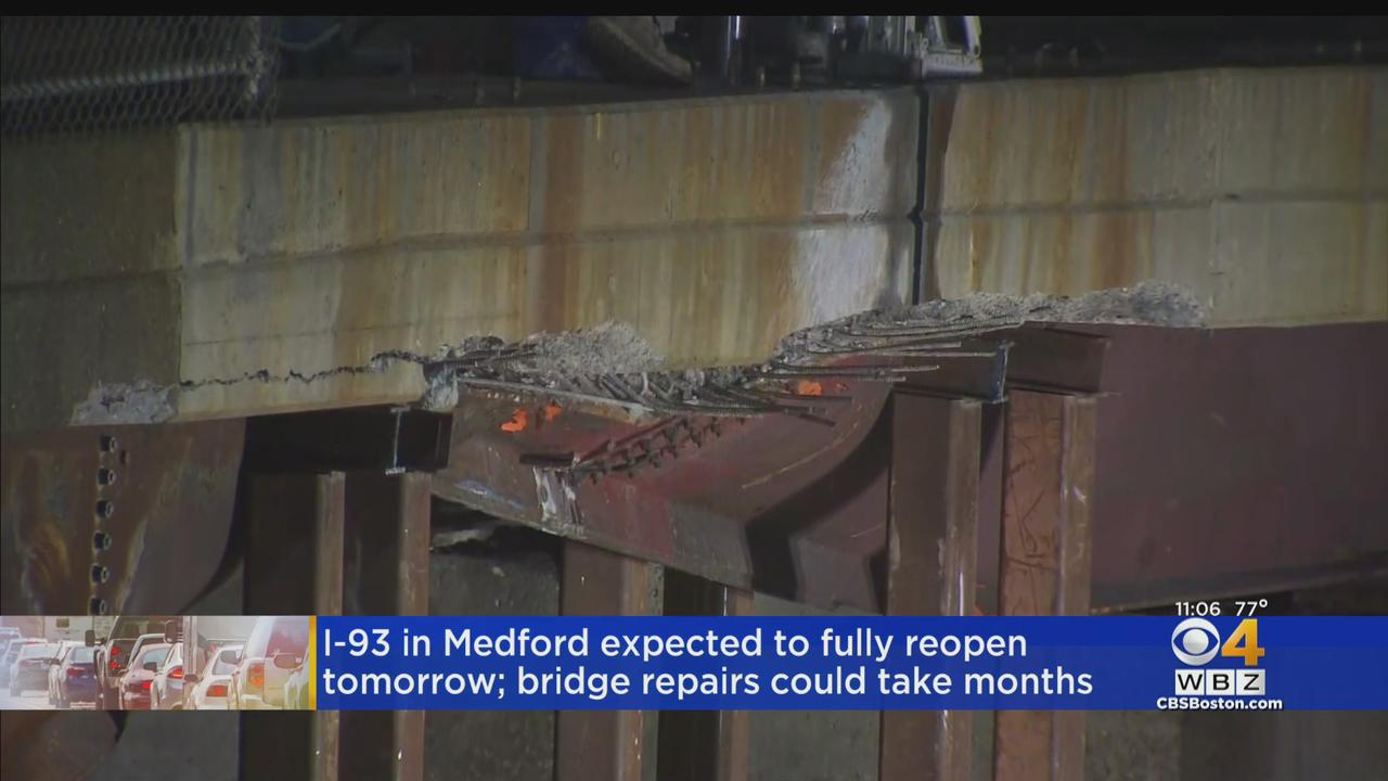 Delays To Continue After Bridge Struck By Oversize Truck In Medford