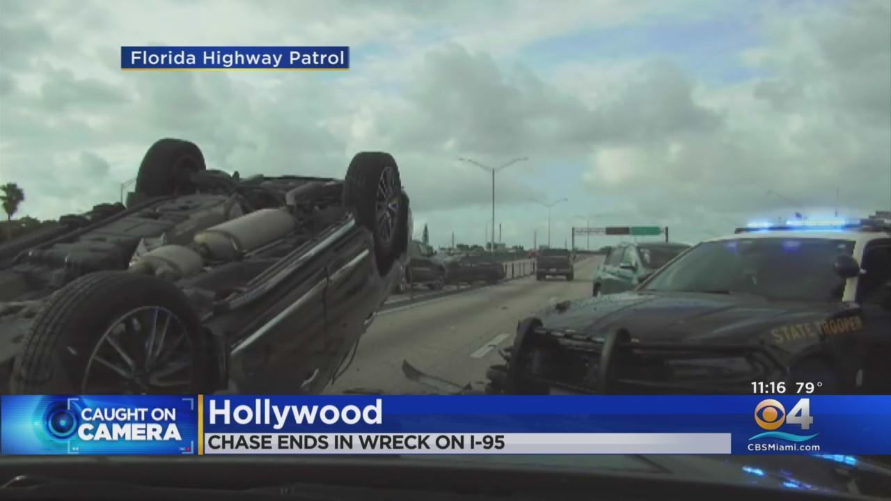 FHP Releases Dashcam Video Of I-95 Pursuit That Ended In Violent Crash