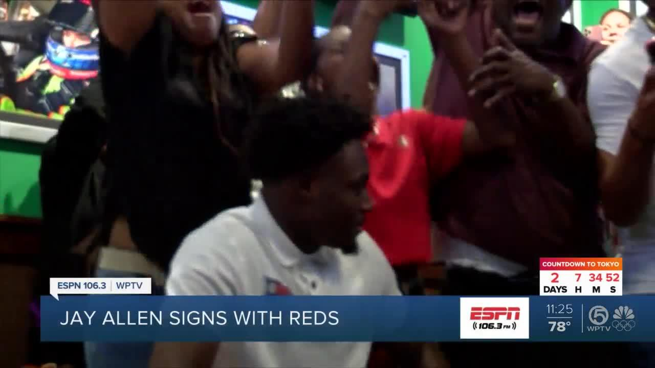JCC alum Jay Allen signs with Reds
