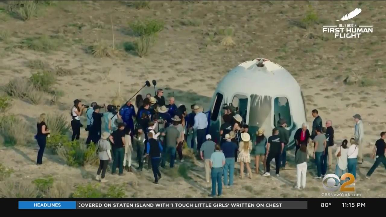 Billionaire Jeff Bezos Has Successful Flight Into Space