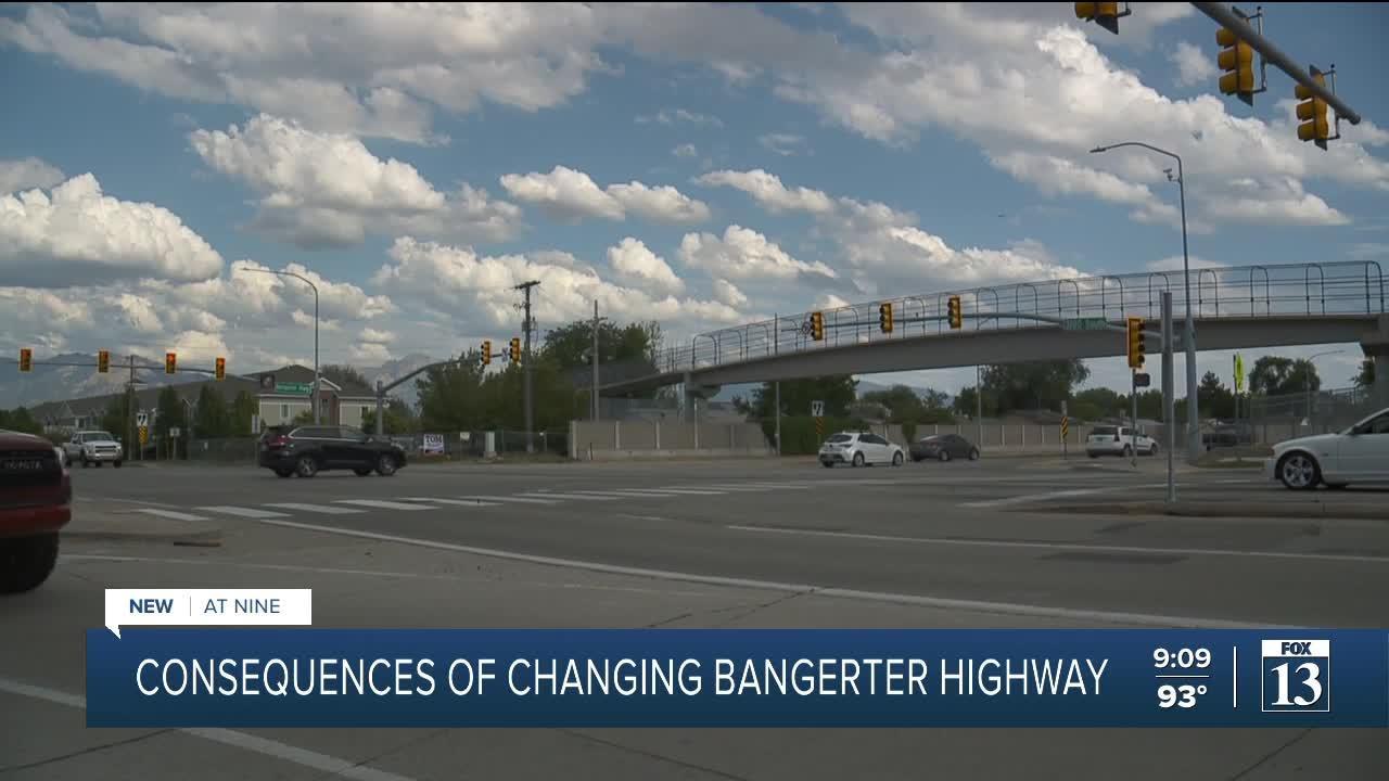 Residents express concerns over Bangerter Highway changes
