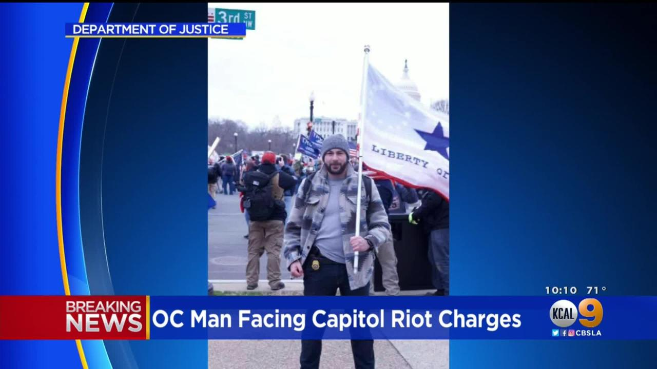 Ex-DEA Agent From Orange County, Mark Sami Ibrahim, Charged In Connection With Jan. 6 Capitol Riot