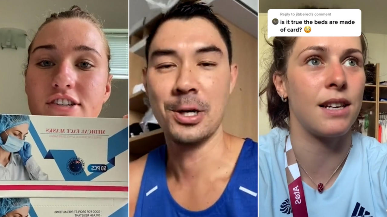 This is what athletes are getting up to in the Olympic Village
