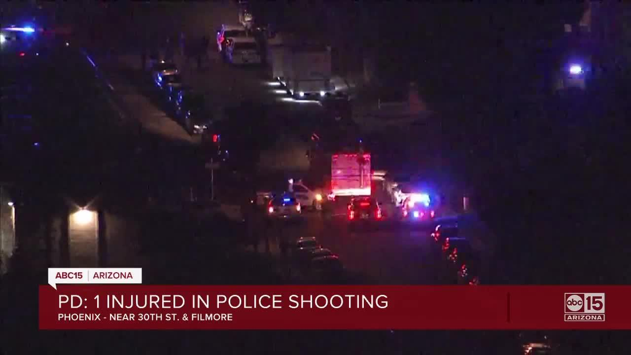 One man shot by police in Phoenix after domestic violence incident