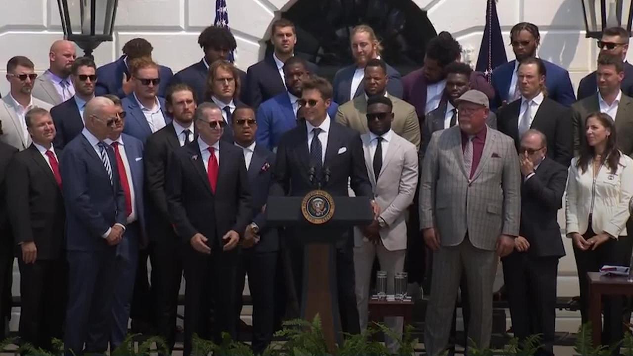 NFL star Tom Brady ribs Biden over Trump election claims